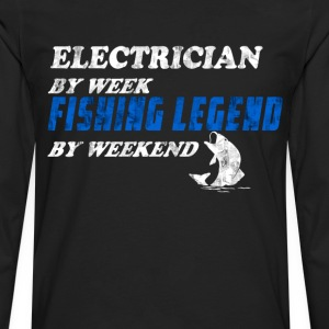 Electrician Fisherman T-Shirts - Men's Premium Long Sleeve T-Shirt