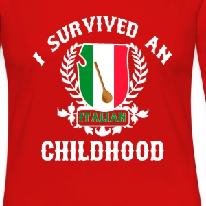 Italian Childhood Women's T-Shirts - Women's Premium Long Sleeve T-Shirt