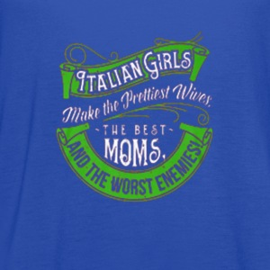Italian Girls T-Shirts - Women's Flowy Tank Top by Bella