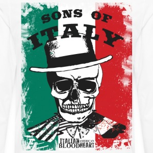 Sons of Italy T-Shirts - Men's Premium Long Sleeve T-Shirt