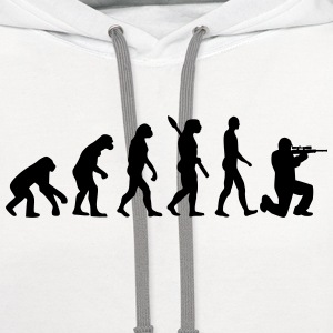 Evolution Airsoft T-Shirts - Contrast Hoodie
