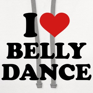 I love belly dance Women's T-Shirts - Contrast Hoodie