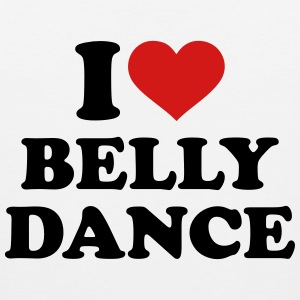 I love belly dance Women's T-Shirts - Men's Premium Tank