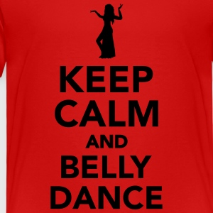 Keep calm and belly dance Kids' Shirts - Toddler Premium T-Shirt