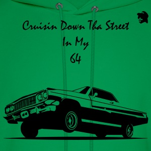 Crusin Down Tha Street In My 64 T-Shirts - Men's Hoodie