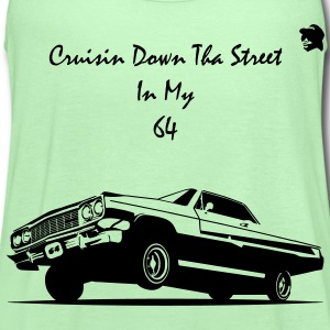 Crusin Down Tha Street In My 64 T-Shirts - Women's Flowy Tank Top by Bella
