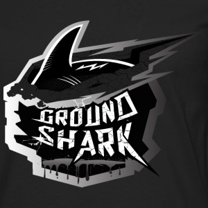 Ground Shark Jiu Jitsu T-Shirts - Men's Premium Long Sleeve T-Shirt