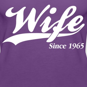 Wife Since 1965 Women's T-Shirts - Women's Premium Tank Top