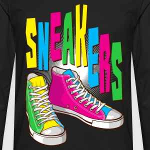 Funky sneakers - Men's Premium Long Sleeve T-Shirt