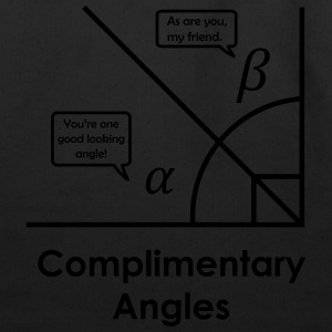 complimentary angles T-Shirts - Eco-Friendly Cotton Tote