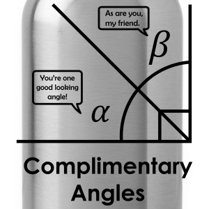 complimentary angles Women's T-Shirts - Water Bottle