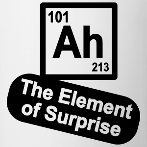 Ah - The Element of Surprise T-Shirts - Coffee/Tea Mug
