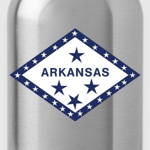 Arkansas Flag Shirt T-Shirts - Water Bottle