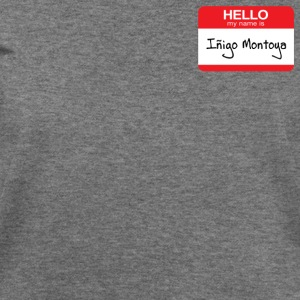 HELLO my name is Indigo Montoya Women's T-Shirts - Women's Wideneck Sweatshirt