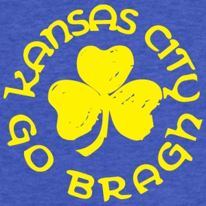 Irish Kansas City Go Bragh Sweatshirts - Fitted Cotton/Poly T-Shirt by Next Level