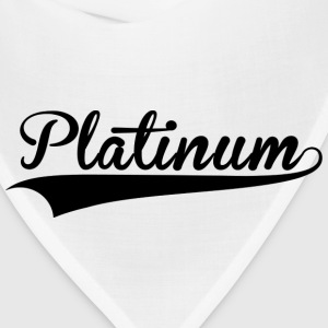 Platinum Culture White Tee - Bandana