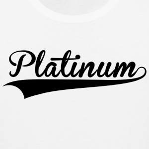 Platinum Culture White Tee - Men's Premium Tank
