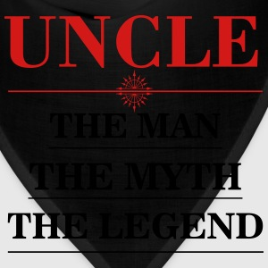 Uncle - The Man The Myth The Legend T-Shirts - Bandana