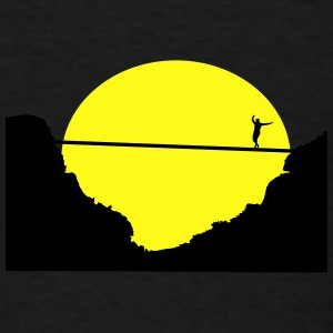 Slacklining, Highline Caps - Men's T-Shirt