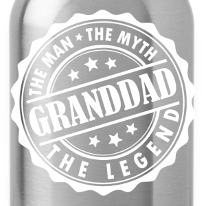 Granddad-The Man The Myth The Legend T-Shirts - Water Bottle
