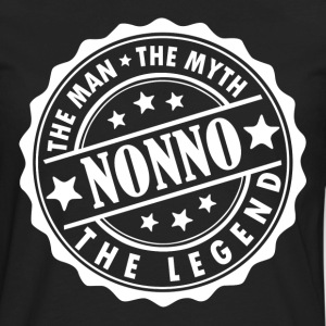 Nonno-The Man The Myth The Legend T-Shirts - Men's Premium Long Sleeve T-Shirt