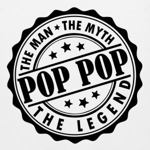 Pop Pop-The Man The Myth The Legend T-Shirts - Men's Premium Tank