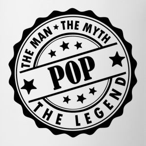 Pop-The Man The Myth The Legend T-Shirts - Coffee/Tea Mug