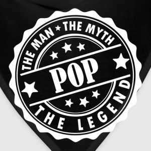 Pop-The Man The Myth The Legend T-Shirts - Bandana