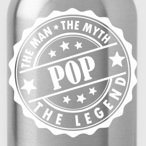 Pop-The Man The Myth The Legend T-Shirts - Water Bottle