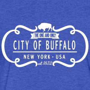 One and Only Buffalo New York Classic Sweatshirts - Fitted Cotton/Poly T-Shirt by Next Level