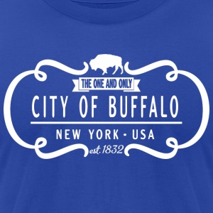 One and Only Buffalo New York Classic Hoodies - Men's T-Shirt by American Apparel