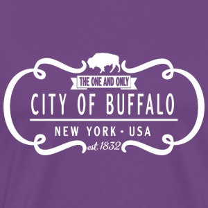 One and Only Buffalo New York Classic Hoodies - Men's Premium T-Shirt