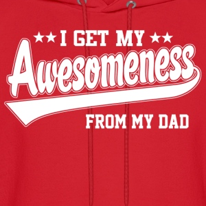 Awesomeness From My Dad Kids' Shirts - Men's Hoodie