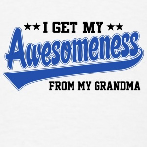 Awesomeness From Grandpa Baby & Toddler Shirts - Men's T-Shirt