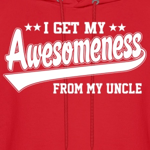 Awesomeness From Uncle Kids' Shirts - Men's Hoodie