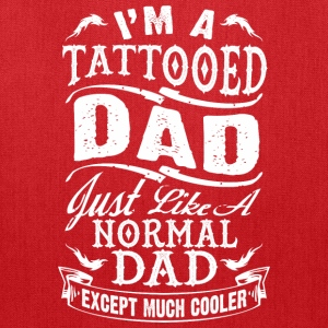 father_day_tattooed_dad tshirt - Tote Bag