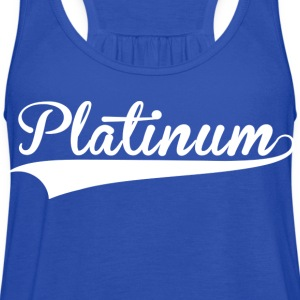 Platinum Blue Steel - Women's Flowy Tank Top by Bella