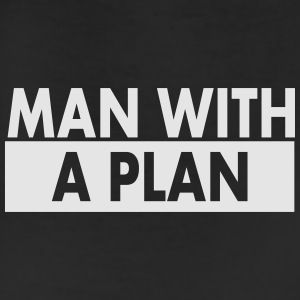 Man with a plan wht Caps - Leggings