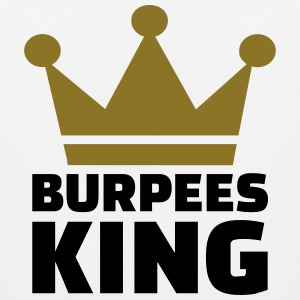 Burpees King T-Shirts - Men's Premium Tank