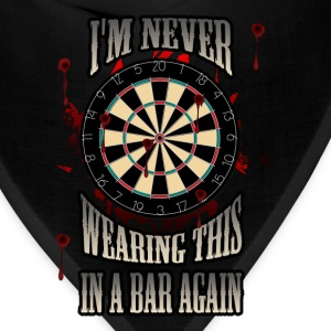 Darts T-shirt - Darts in a bar - Bandana