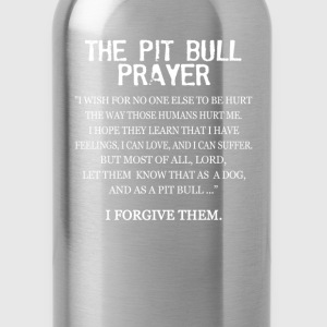 The Pit Bull Prayer - Water Bottle