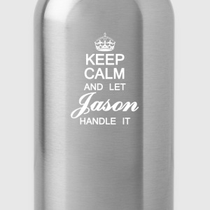 Keep calm and let Jason handle it - Water Bottle