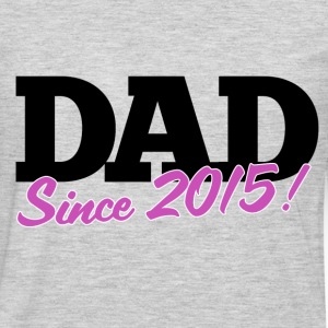 new DAD to be for fathers day - Men's Premium Long Sleeve T-Shirt