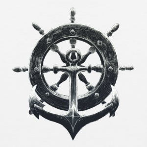 Anchor & Wheel T-Shirts - Men's Premium Tank