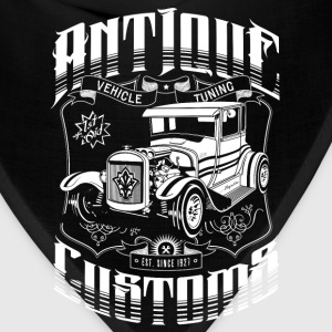 Hot Rod - Antique Customs Long Sleeve Shirts - Bandana