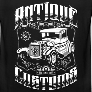 Hot Rod - Antique Customs Long Sleeve Shirts - Men's Premium Tank