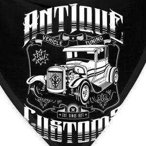 Hot Rod - Antique Customs T-Shirts - Bandana