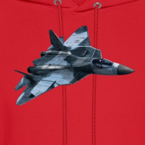 Fighter Sukhoi T-Shirts - Men's Hoodie