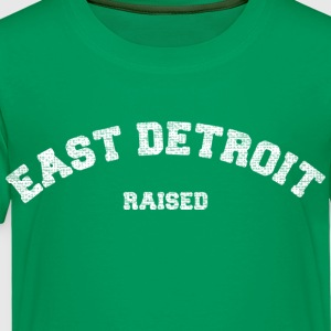 East Detroit Raised Michigan Kids' Shirts - Toddler Premium T-Shirt