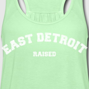East Detroit Raised Michigan T-Shirts - Women's Flowy Tank Top by Bella